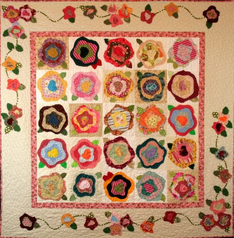 french roses quilt pattern free   also love this quilt called The ... : french roses quilt pattern free - Adamdwight.com
