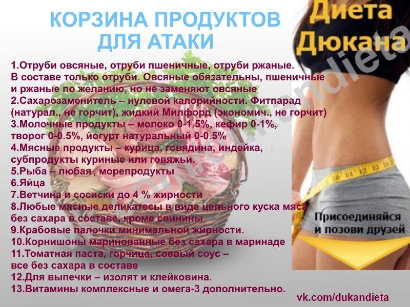 Рецепт похудения пьер дюкан