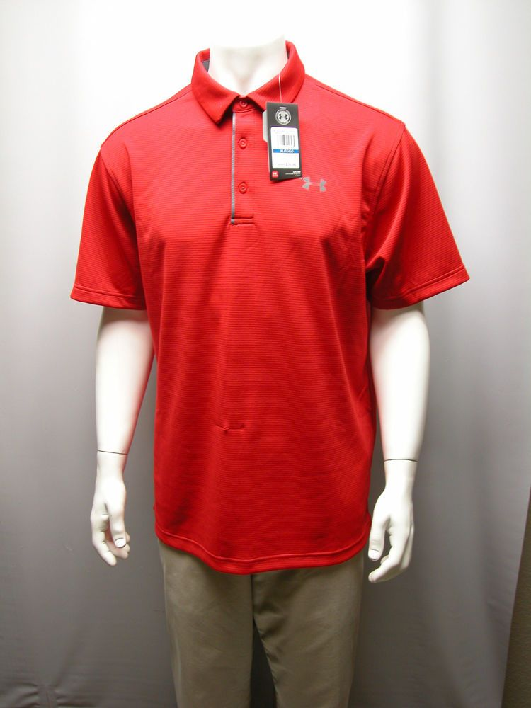Under Armour Polo XL Red/Red EjDRxkVl1k