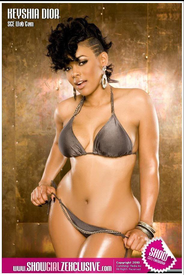 xxl Keyshia magazine dior