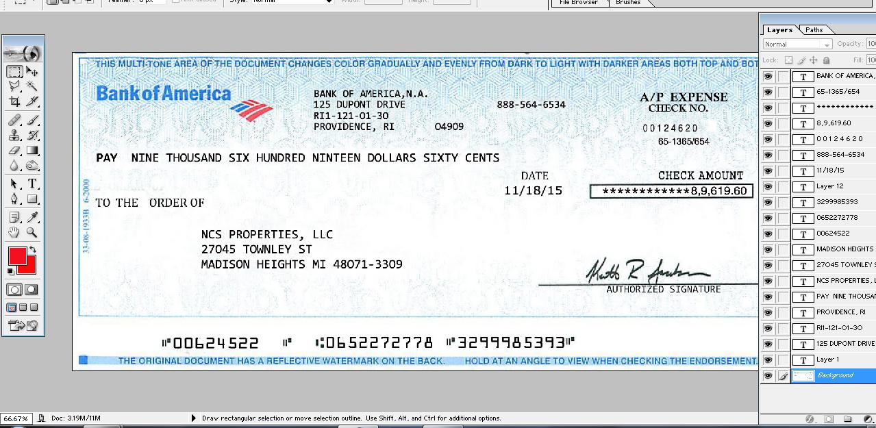 Bank Statement Editor Service Payroll Checks Photoshop Services Payroll Template