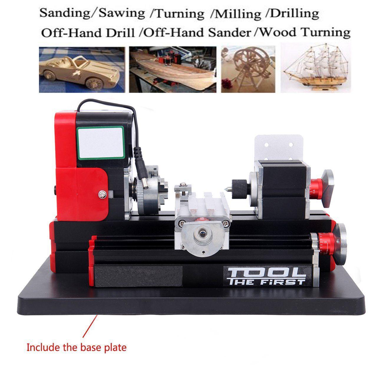 Metal Mini Milling Machine Metalworking DIY Woodworking Power Tools Modelmaking