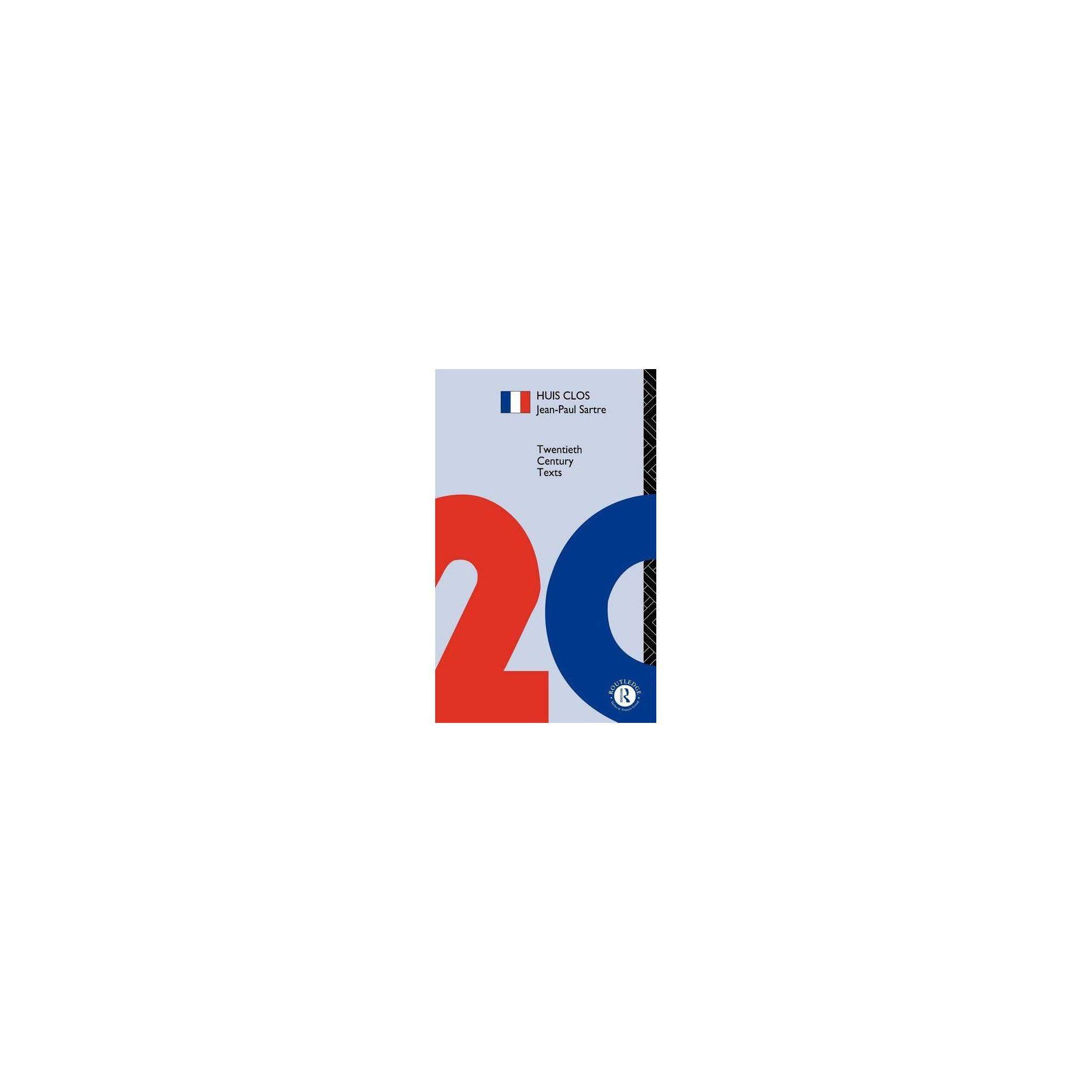 Huis Clos - (Twentieth Century Texts) by Jean-Paul Sartre & J P Sartre (Paperback) #jeanpaulsartre