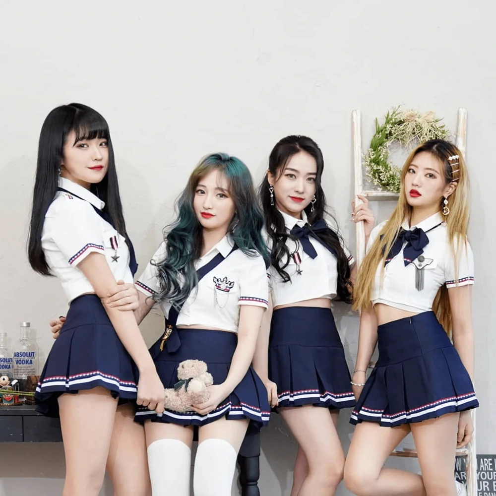 Daydream 2019 Group Kpop Wiki Fandom What A Very Very Nice Day For A Daydream Oh Yes A Nice Drop Of The Old Kpop Girls Daydream Korean Girl Groups
