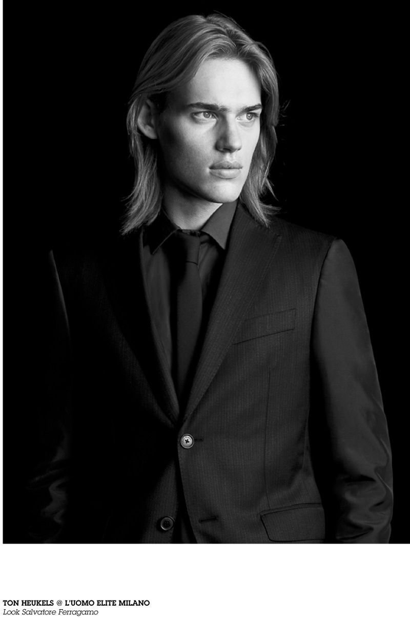 Long Hairstyle and Fashion. Ton Heukels