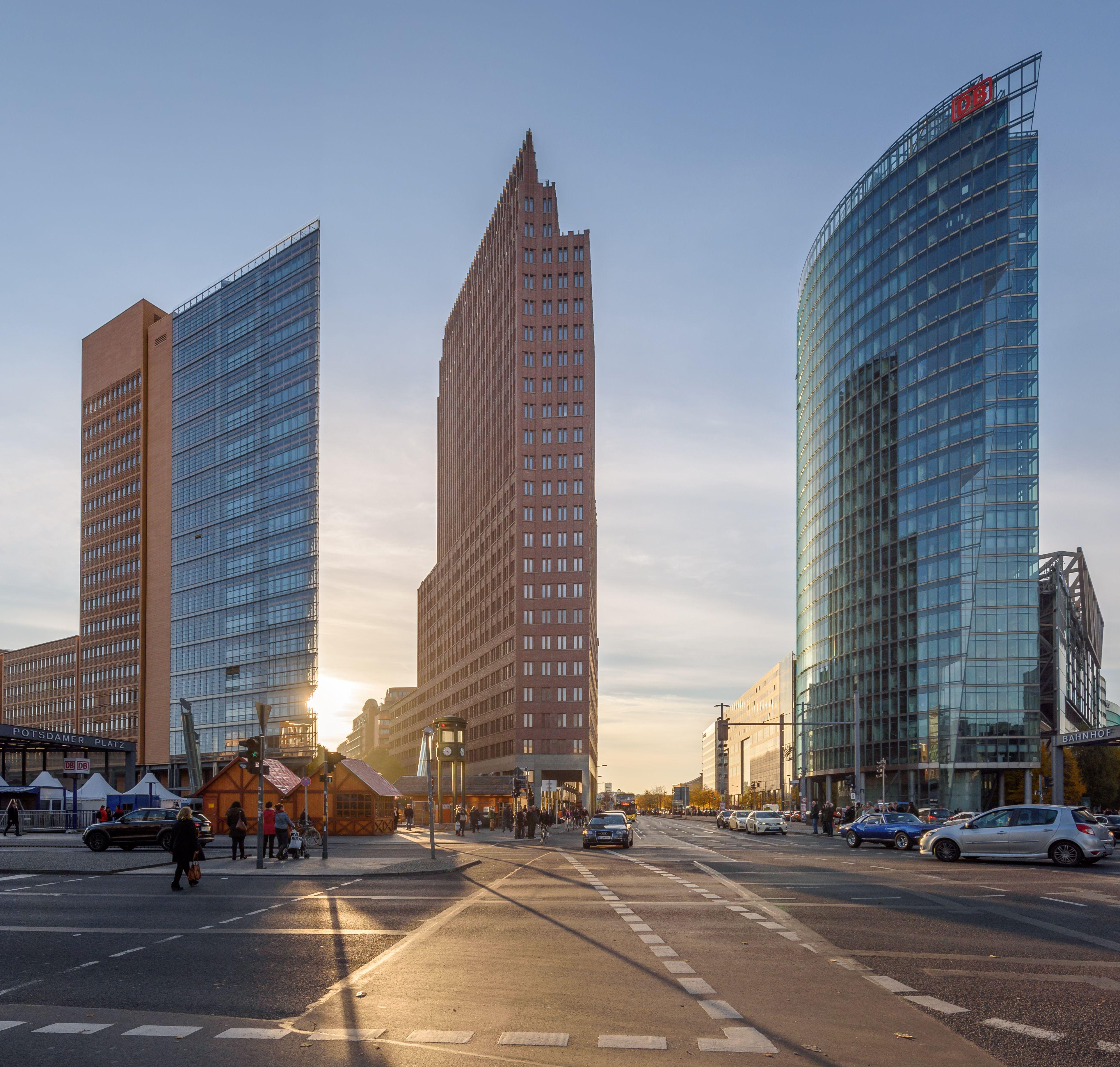 The Architecture Of Reunification At Potsdamer Platz And Kulturforum Potsdamer Platz Architecture Skyscraper