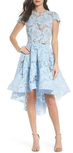 Bronx And Banco Rose Sky Lace High Low Dress Dresses Nordstrom Dresses Dresses For Sale