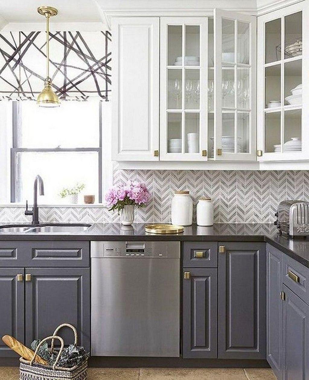 31 Nice Sage Kitchen Cabinets Design Ideas   Kitchen ...