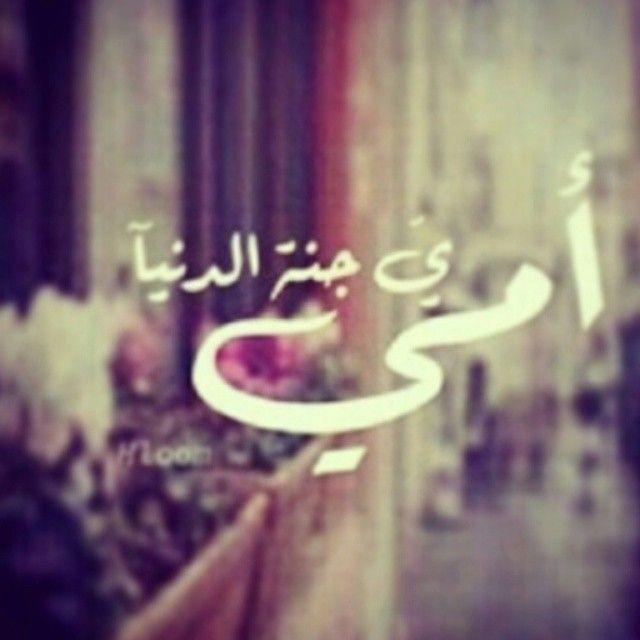 أمي ي جنة الدنيا الله لا يحرمنا منكگ يارب احبك Instagram Posts Instagram Art