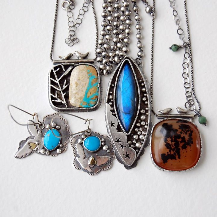 6shadowsjewelry on etsy jewelry art mixed metal jewelry
