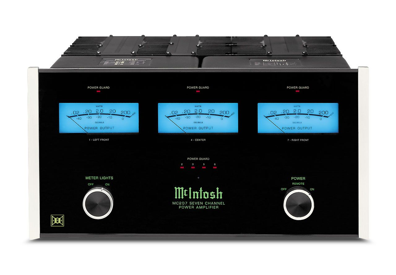 Mcintosh Multi Channel Amplifier Mc207 Available At Mir Audio Video Check Us Out At Www Miraudiovideo Com Home Theater Amplifier Amplifier
