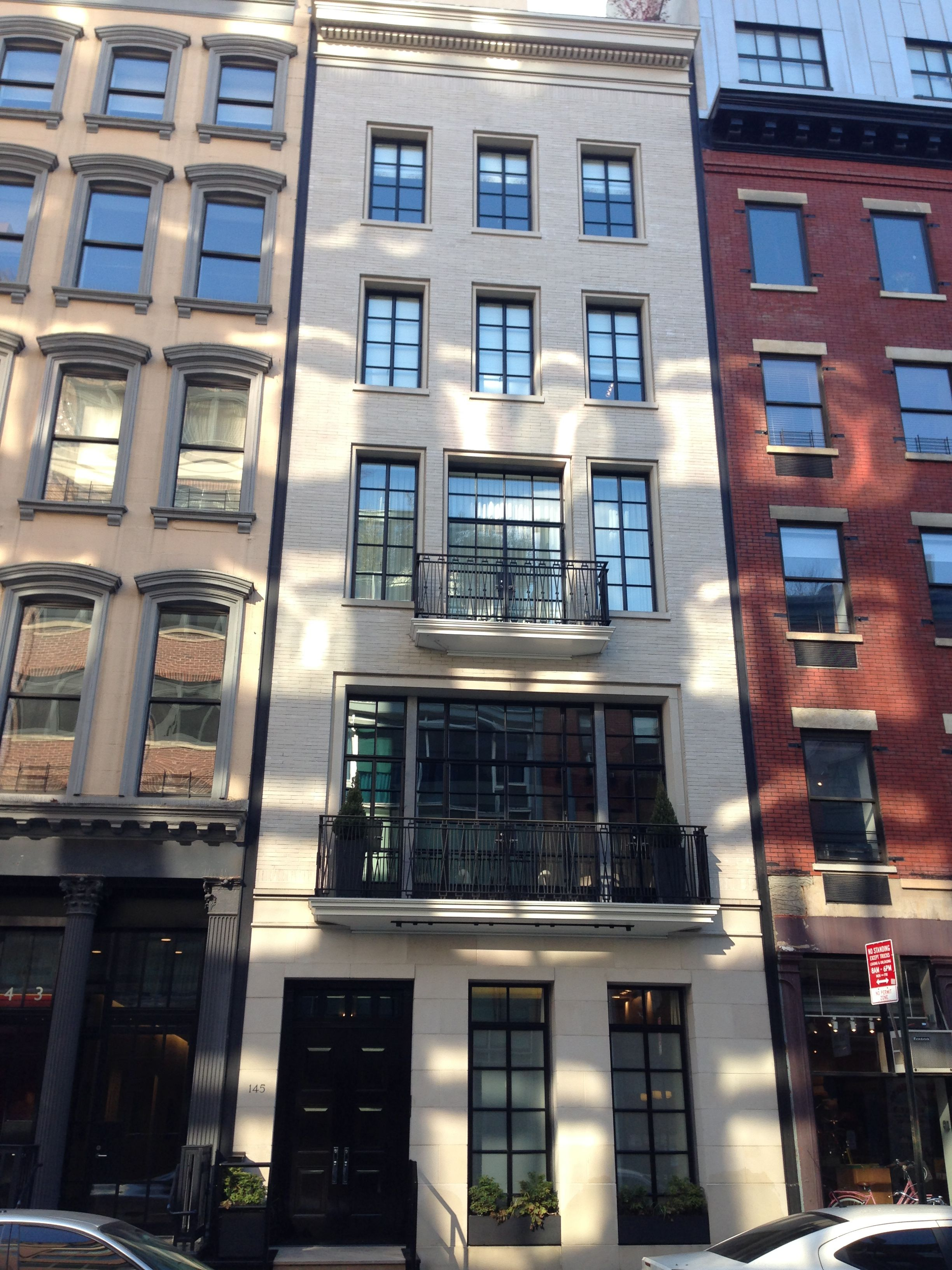 Tribeca Townhouse New York Architecture Architecture Architectural Inspiration