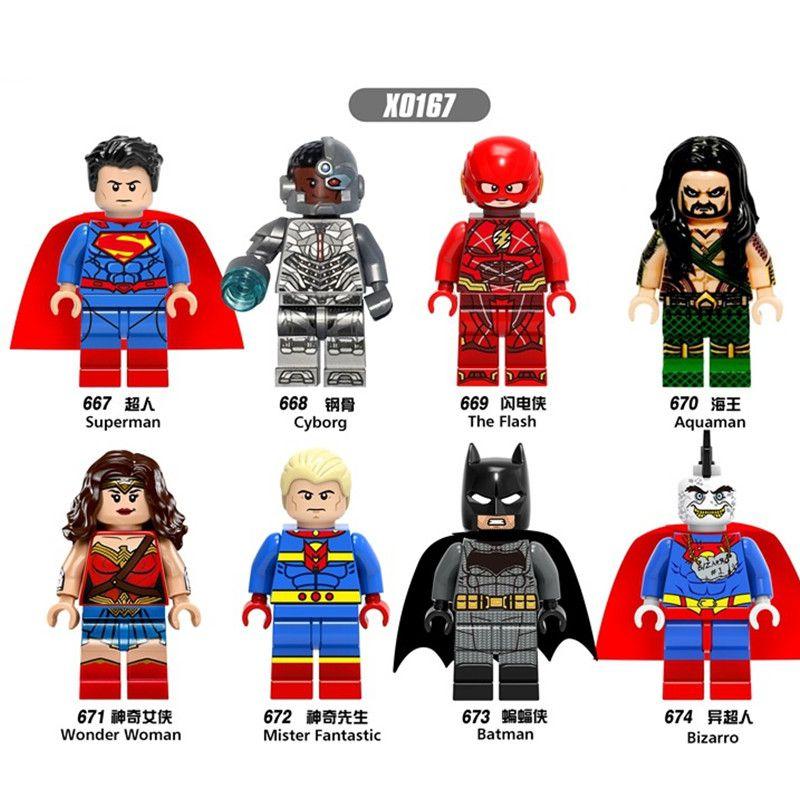 16PCS Endgame Figures Thanos IronMan War Machine Lego Minifigures