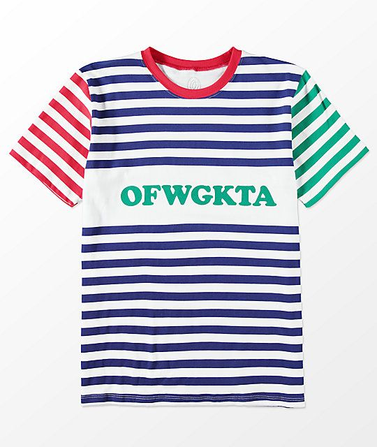 d15251e051a5 Odd Future OFWGKTA Striped T-Shirt in 2019