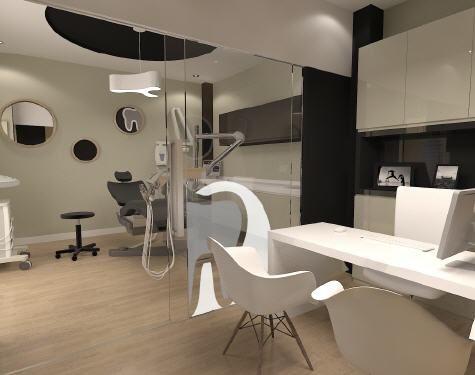 Cl nicas dentales cl nica pinterest dental - Disenos clinicas dentales ...