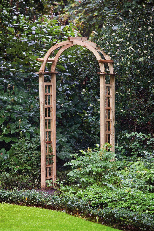 Awesome Round Trellis Garden Arch