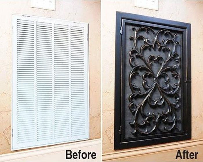 rubber door mats to cover up those nappy air vents & Take Your Vent Covers From Drab To Fab With This Ultimate How-To ...