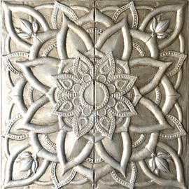 Cuadros plateados originales y muy decorativos de estilo for Cuadros decorativos clasicos