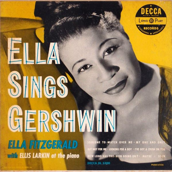 8251f8b1d Ella Fitzgerald - Ella Sings Gershwin (Vinyl