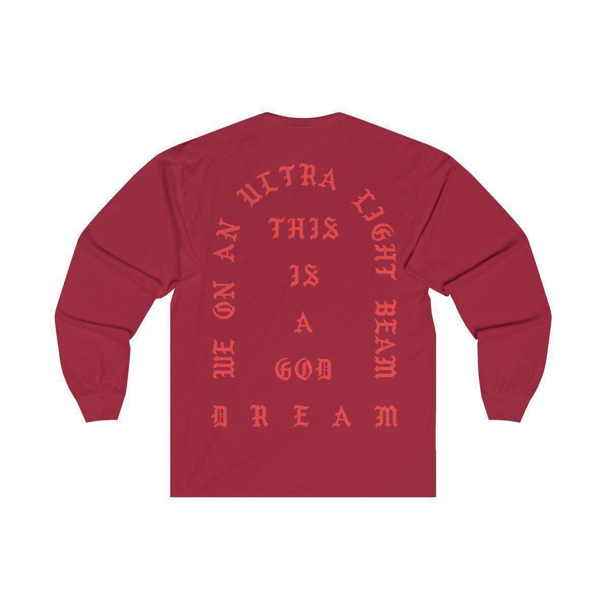 I Feel Like Pablo Unisex Jersey Long Sleeve Tee Kanye West Merch Tlop The Life Of Pablo Inspired Long Sleeve Tees Life Of Pablo Merch Kanye West