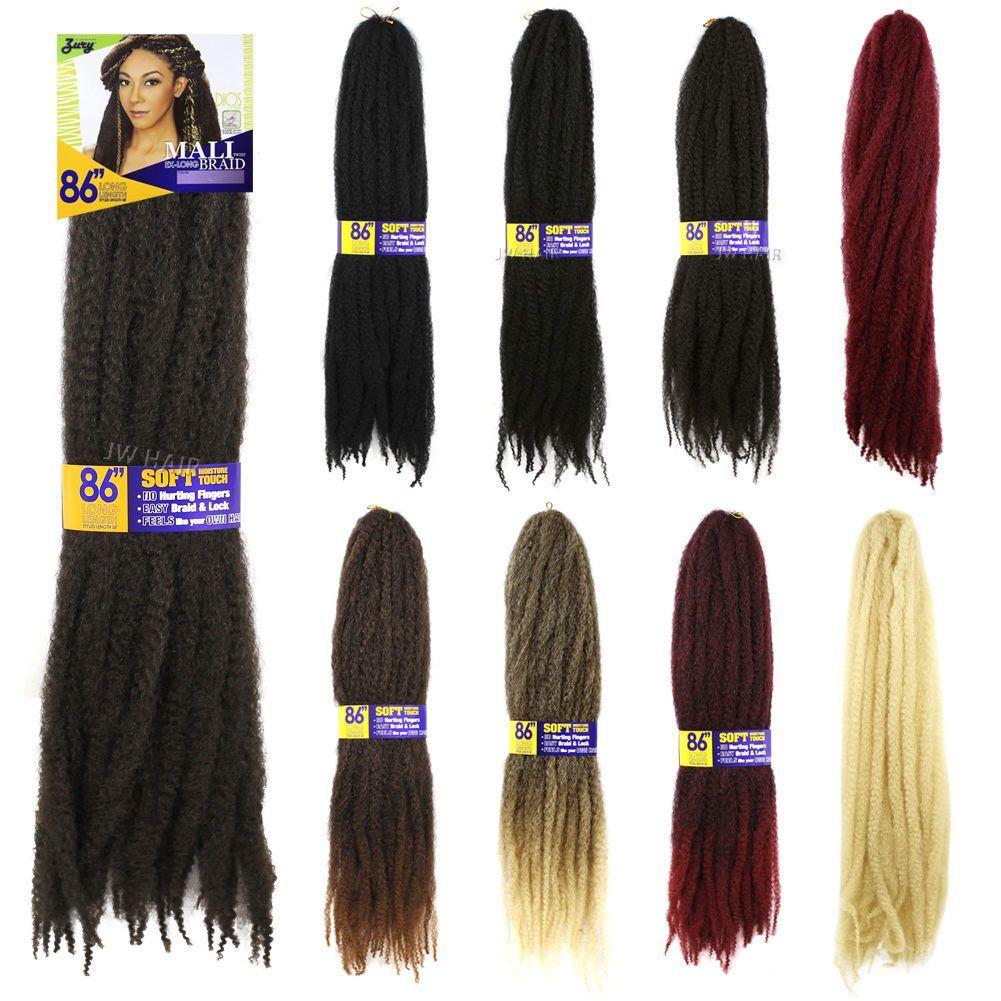 Zury Dios Mali Twist Braid Kanekalon 86 Ex Long Hair Weaving