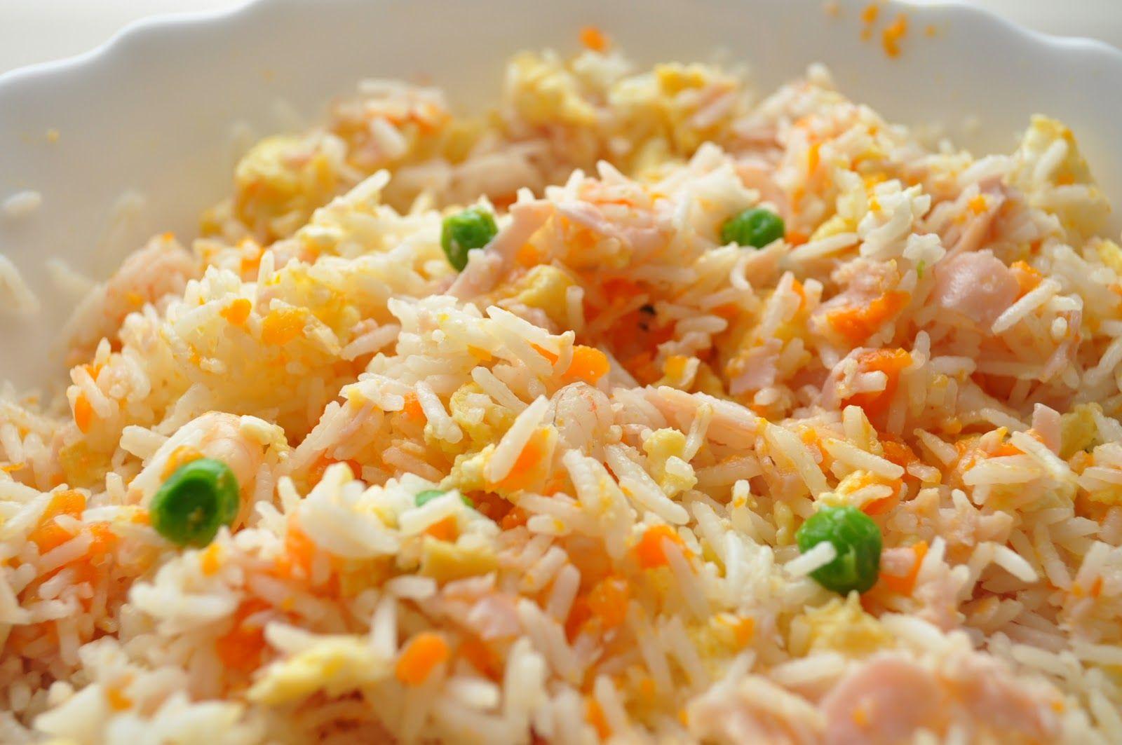 Receta Oriental Para El Arroz 3 Delicias Arroz Chino Arroz Tres Delicias Arroz