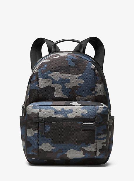 ac8f38b60472 Michael Kors Travis Camouflage Nylon Backpack   Products   Backpacks ...