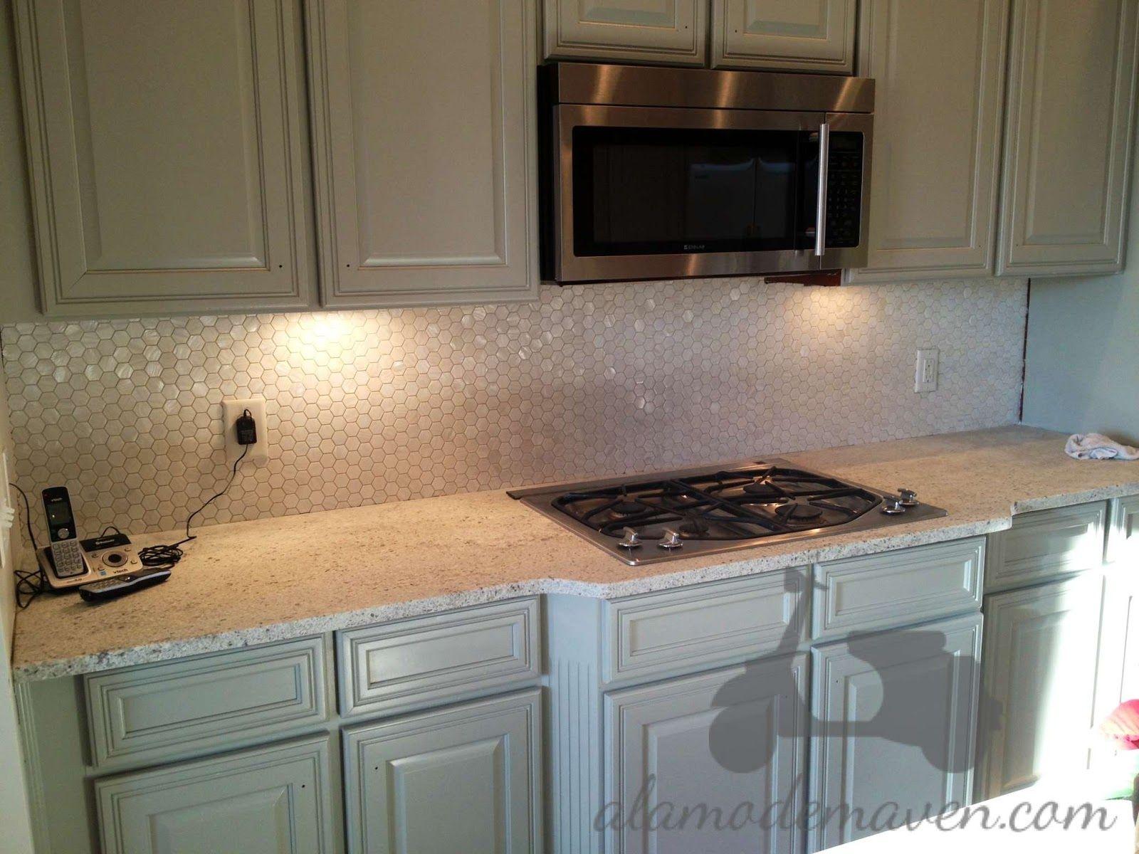 kitchen tile trends | My tile designer Seth , from Indigo Granite and Tile Designs, and I ...