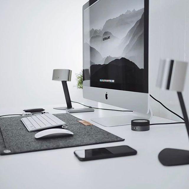 Ultralinx minimalsetups gaming desks pinterest - Desk for imac inch ...
