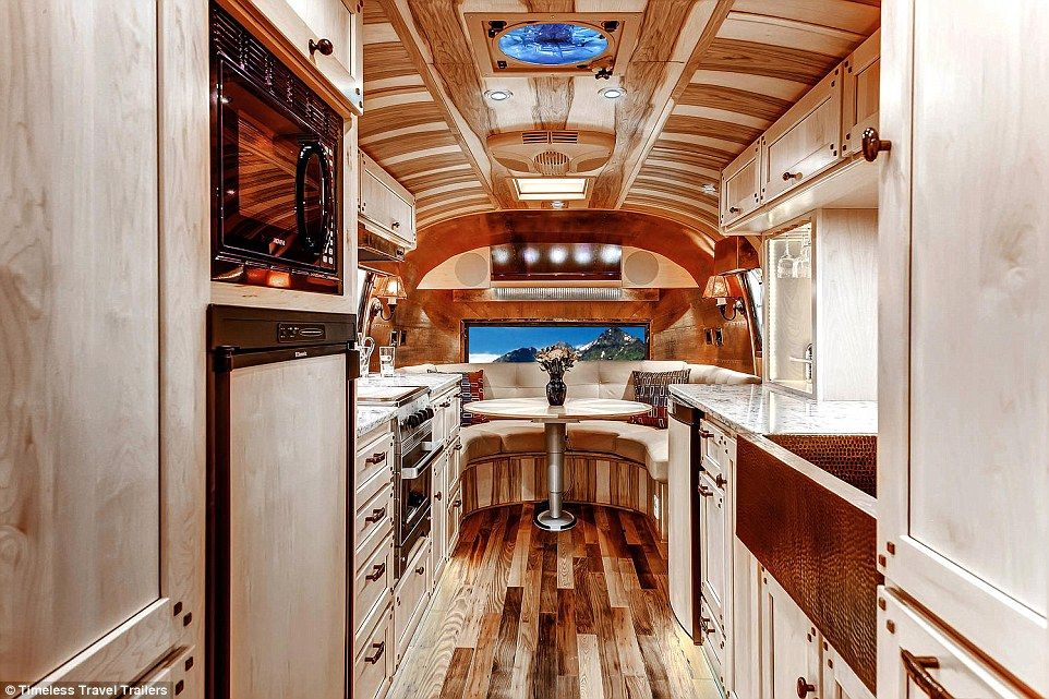 The Coolest Customized Rvs On The Road Airstream Trailer Decor Rv Living Full Time