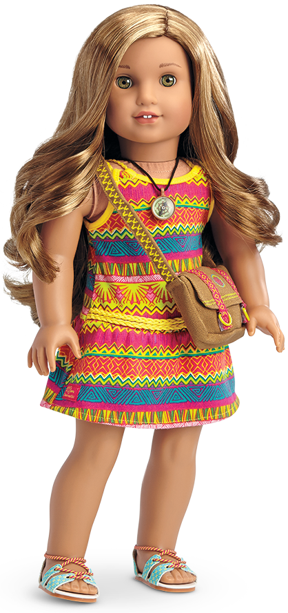 Meet American Girl\'s 2016 Girl Of The Year - Lea Clark | Pinterest ...