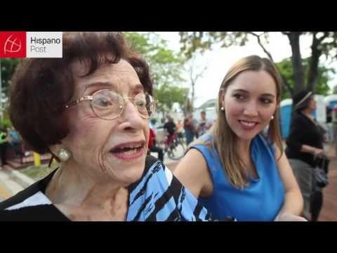 """Celebro que a mis 102 años, vi morir a Fidel""-Video- – HispanoPost – The Bosch's Blog"