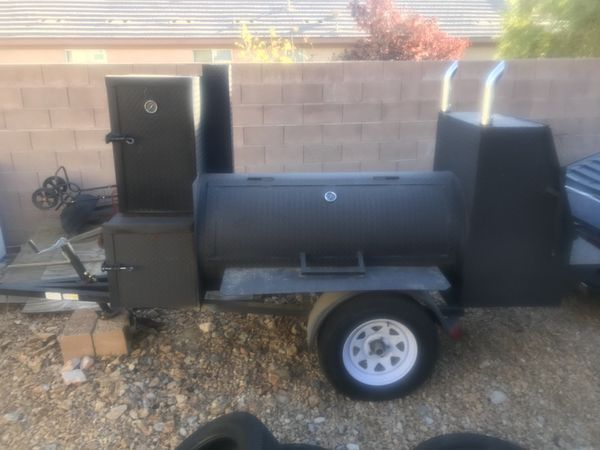 Offerup Las Vegas >> Smoker Trailer For Sell Or Trade For Running Car For Sale In Las