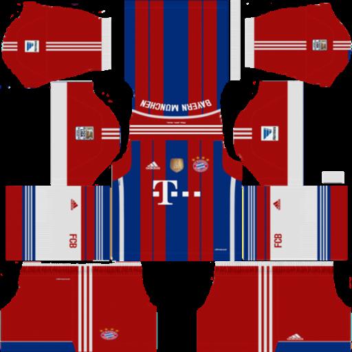 Dls 19 Bayern Munich 14 15 Home