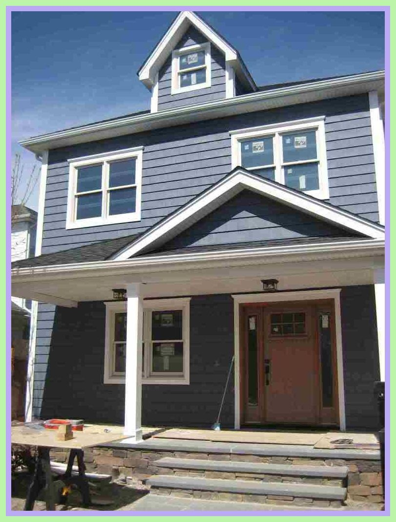 121 Reference Of Navy Blue Front Door With Gray Siding In 2020 Vinyl Siding Colors White Siding Blue Siding