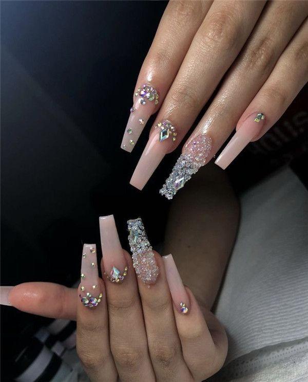 Photo of Top 38 disegni di unghie con diamanti che devi provare