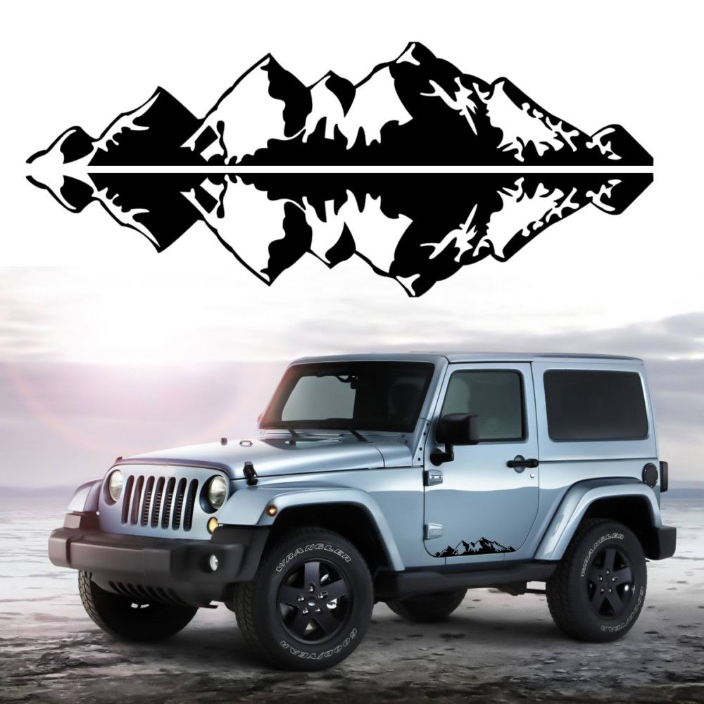 Like If You Want This Snow Mountain Car Stickers Just For 11 95 Tag A Friend Who Would Love This Fast Shipping Car Stickers Mountain Decal Truck Tailgate [ 1000 x 1000 Pixel ]