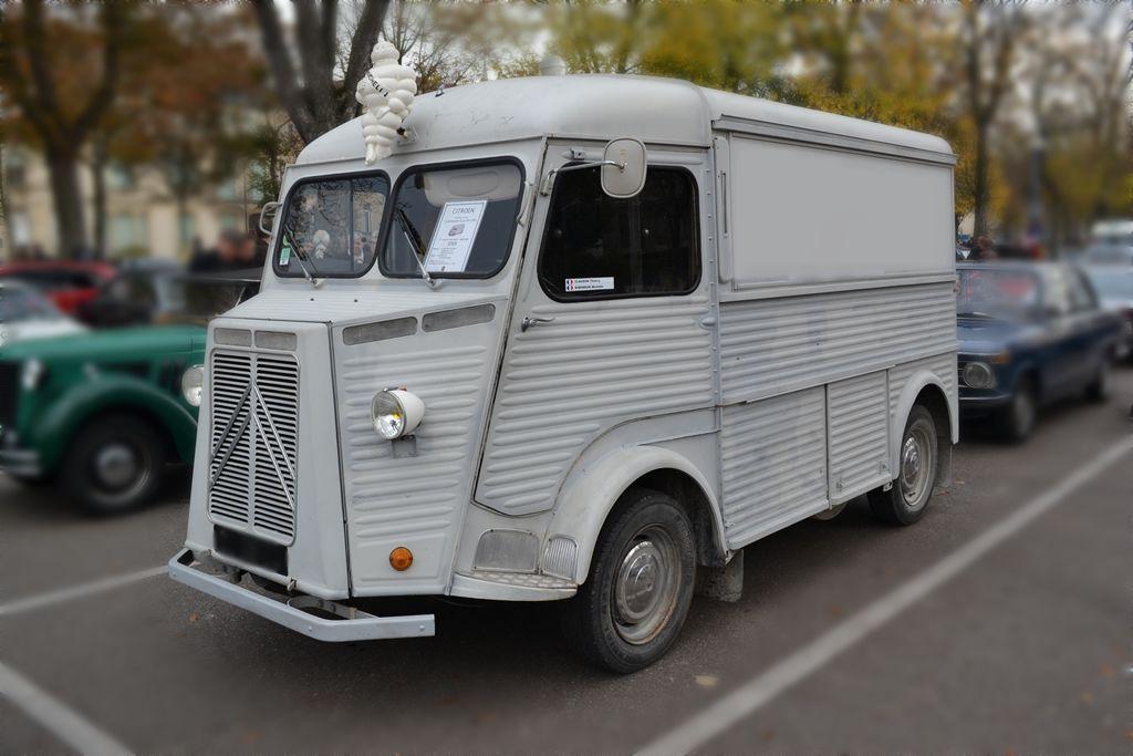 camionnette citroen hy 1959 rassemblement voitures anciennes place carnot nancy lorraine. Black Bedroom Furniture Sets. Home Design Ideas