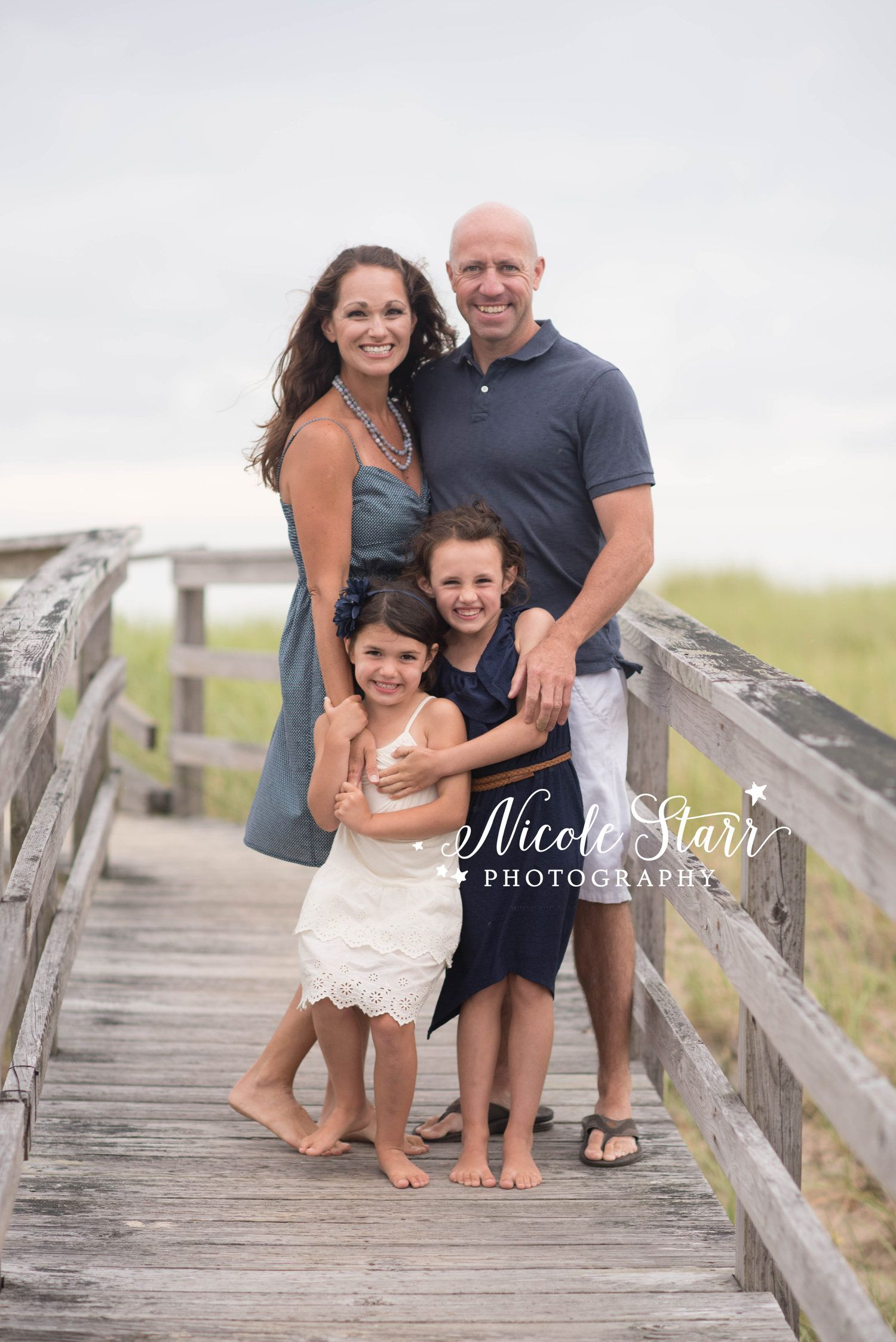 A Large Family Portrait Session at Sagamore Beach - Cape Cod