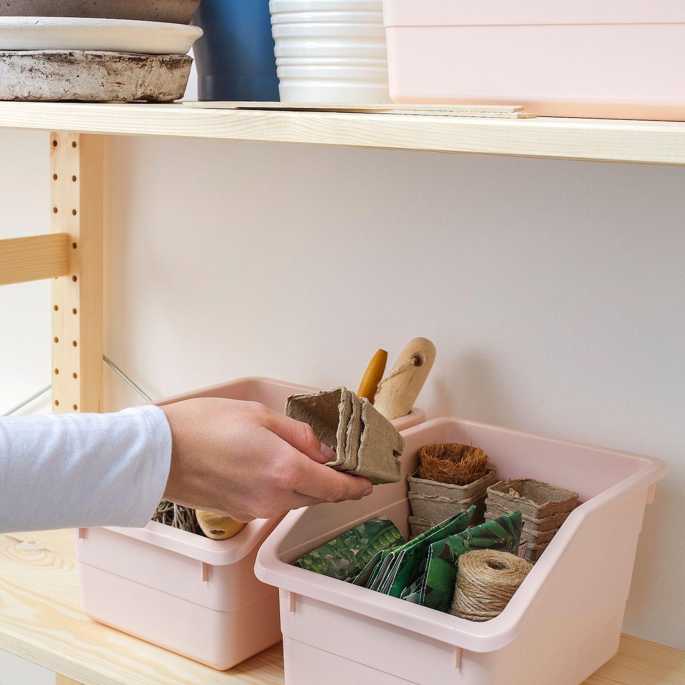 IKEA - SOCKERBIT Box Pink In 2020