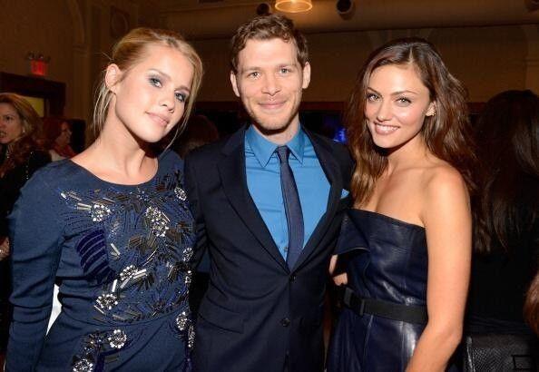 Joseph Morgan, Claire Holt and Phoebe Tonkin