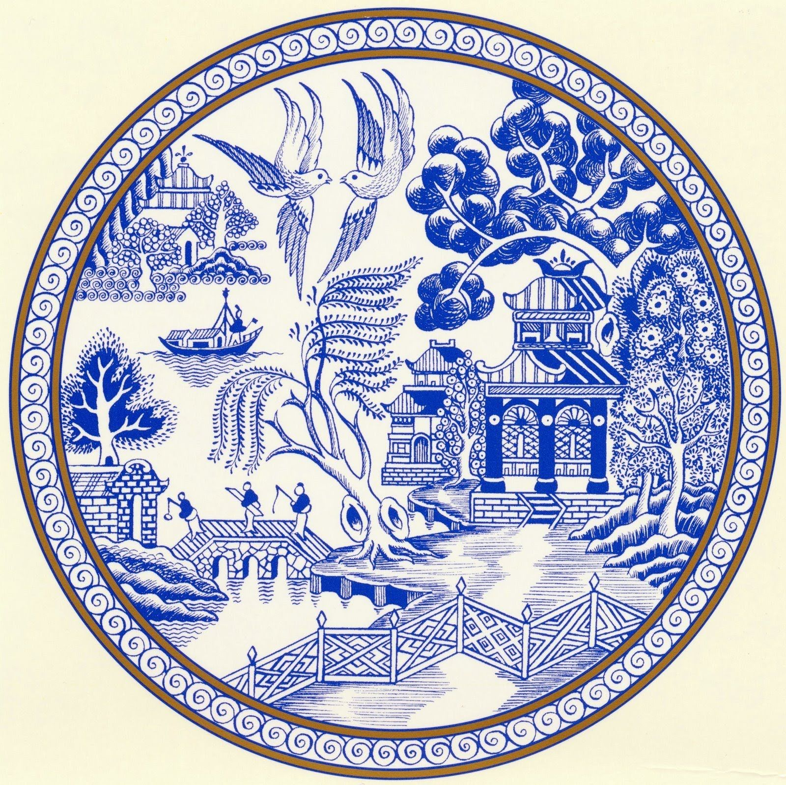 The Willow Pattern Poem