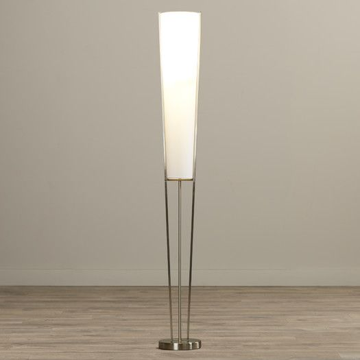Found It At Allmodern Darrel 61 Torchiere Floor Lamp With Linen Shade Lamp Torchiere Floor Lamp Novelty Floor Lamp