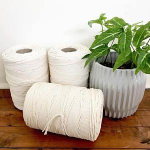 Macrame Cord 3mm X 2kg Approx 500m 3 Ply 3 Strand Twisted Natural Cotton Bulk Macrame Rope Diy Macrame Macrame Cord Macrame Diy Rope Diy