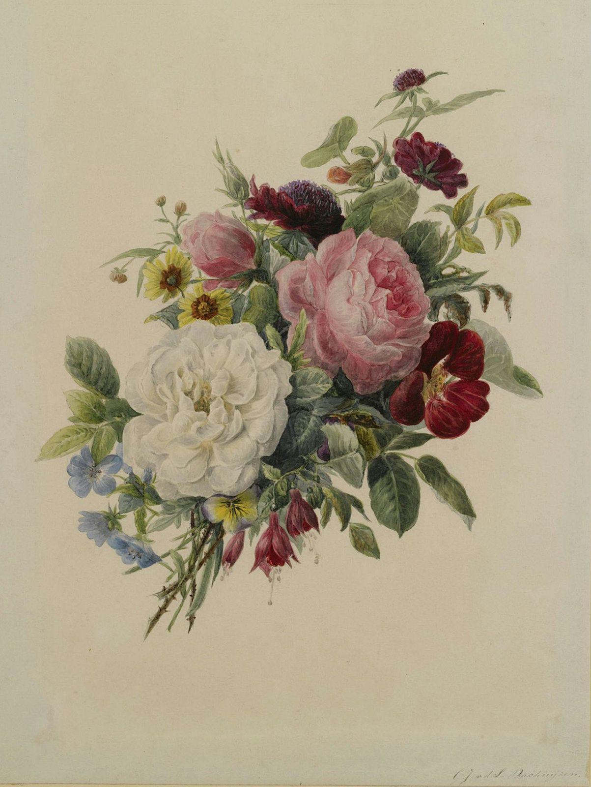 красивые картинки с цветами старинные других случаях