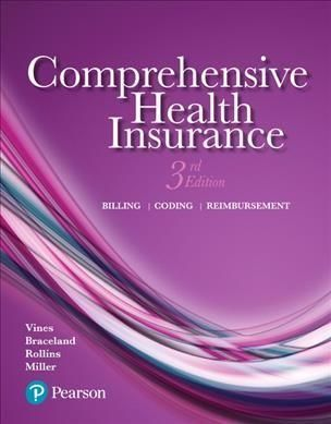 Comprehensive Health Insurance: Billing, Coding, and ...