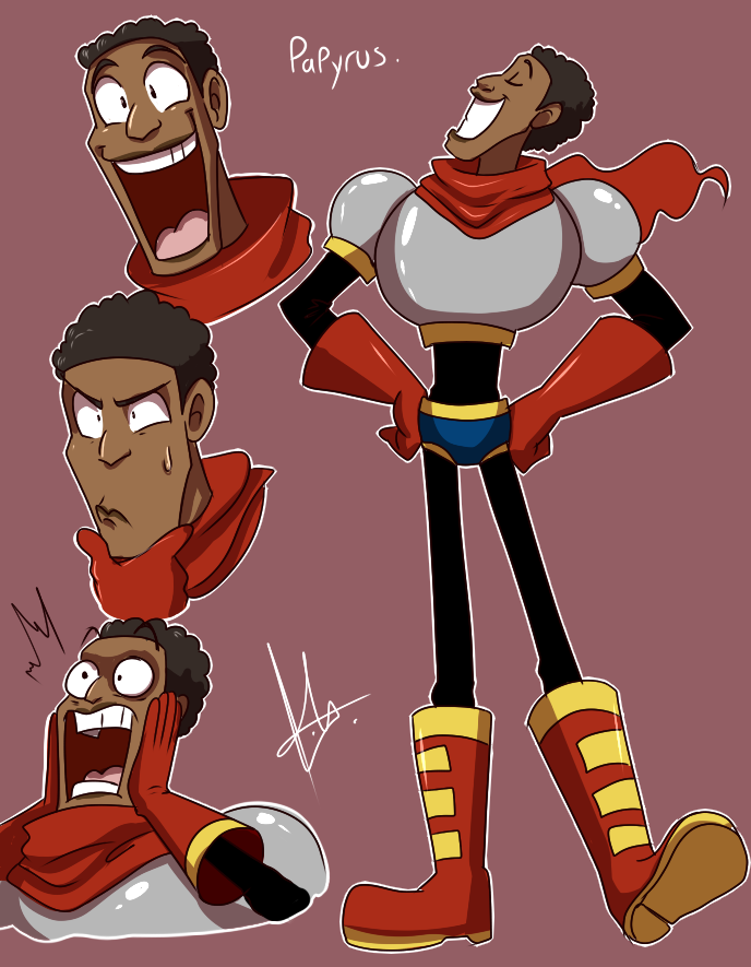 yuramec: Human Papyrus sheet! this is so cute aaaahhhhhh halp