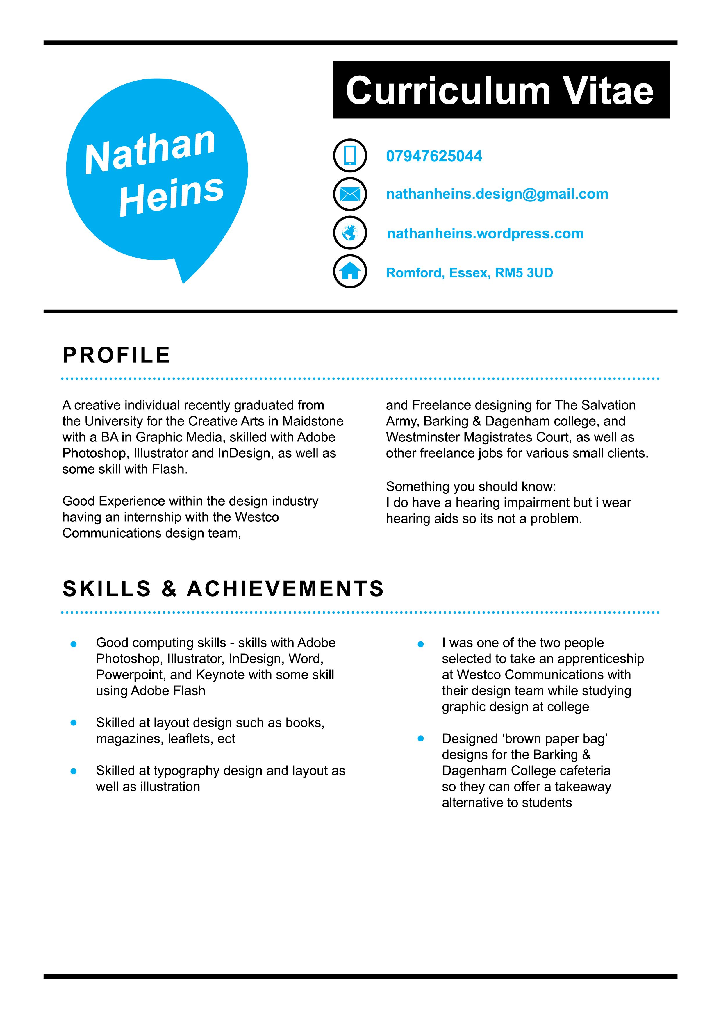 Cv graphic design cv free resume examples resume