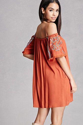 Paisley Embroidered Mini Dress Jetzt bestellen unter: https://mode ...