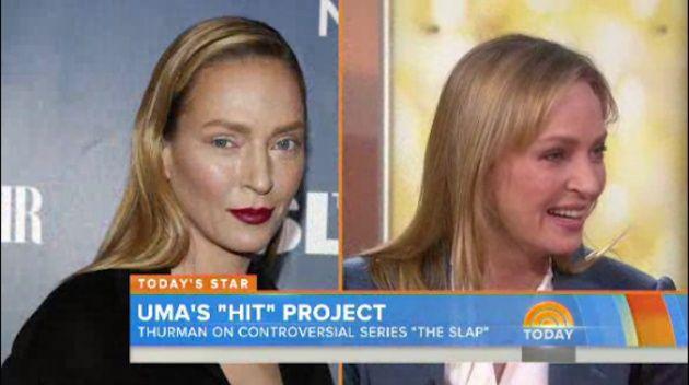Borrad vuestros tuits: lo de Uma Thurman era maquillaje | Verne EL PAÍS